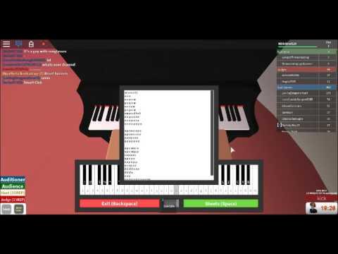 Roblox Piano Fight Song!{Got Through!!!!!}