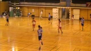 2009年12月6日(日)福岡県学生ハンドボール選手権大会・女子