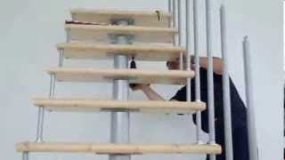 Видео установки модульной лестницы(Это подробное видео установки модульной лестницы. С помощью данного видео сборку лестницы может осуществи..., 2013-08-06T14:31:39.000Z)
