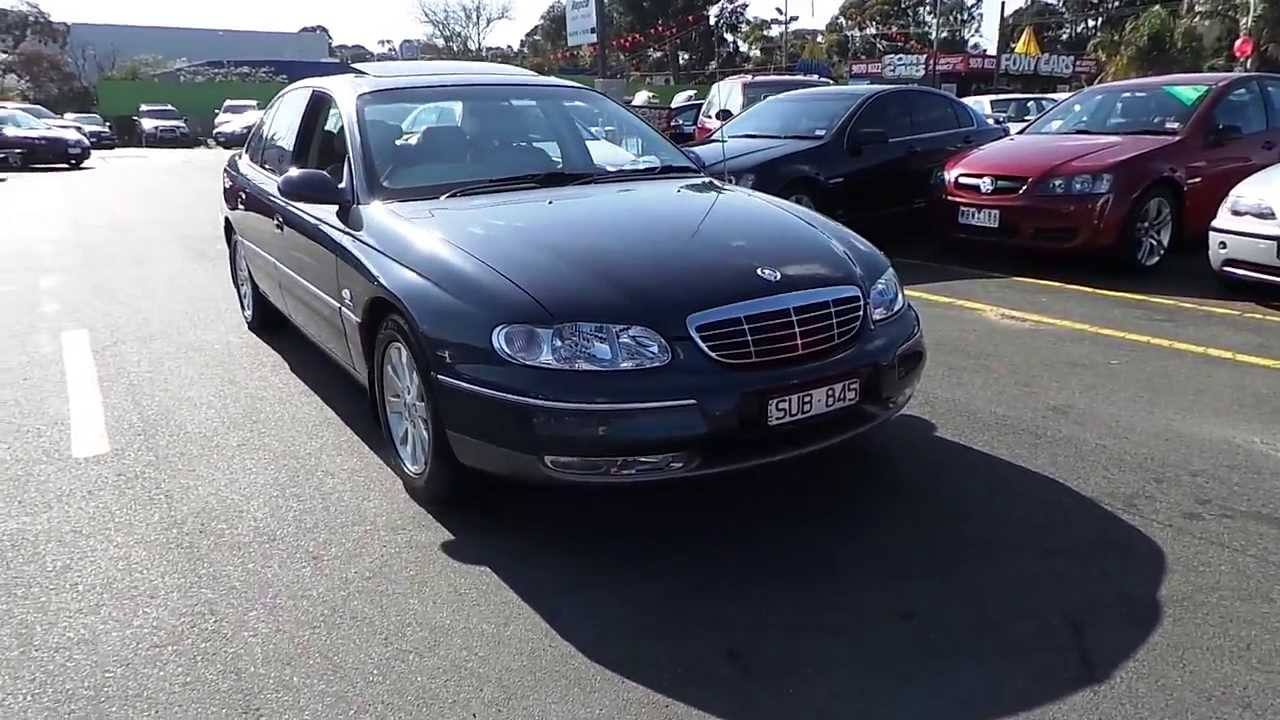 Used 2002 Holden Statesman V8 Whii For Sale Car City Ringwood