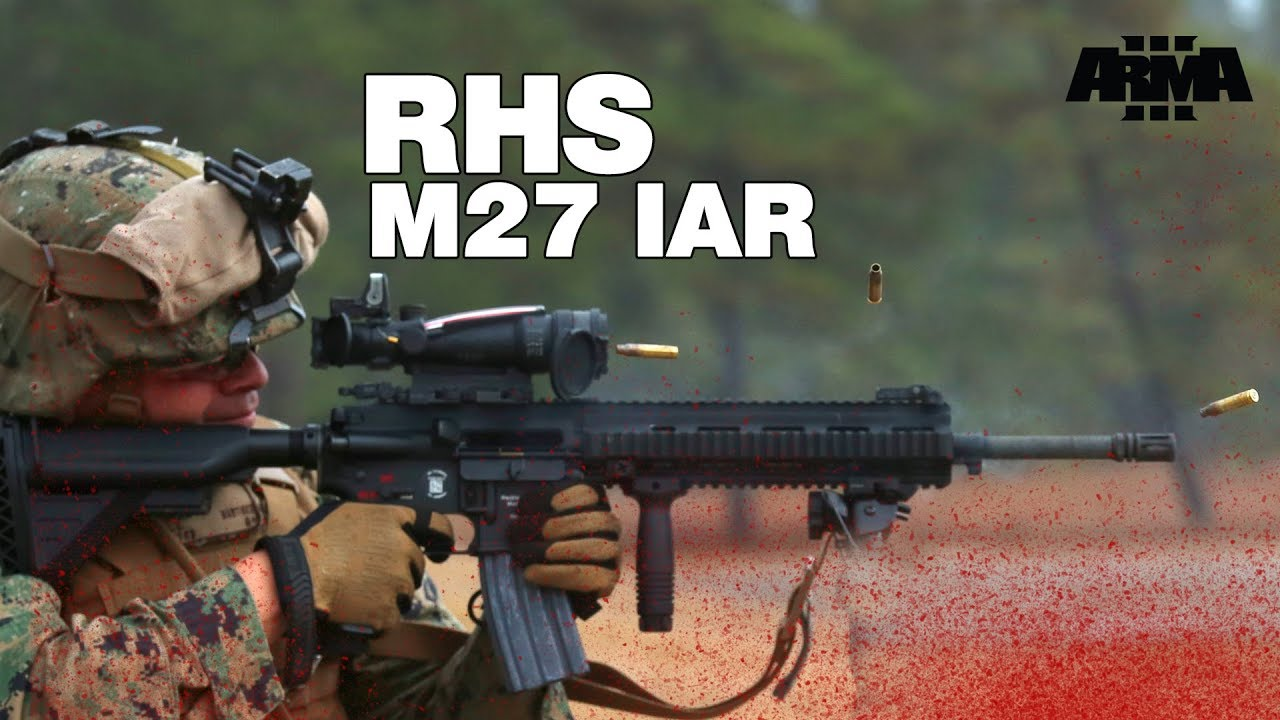 Arma 3 Rhs Koth M27 Iar Could This Be The Ar Of Choice For Rhs