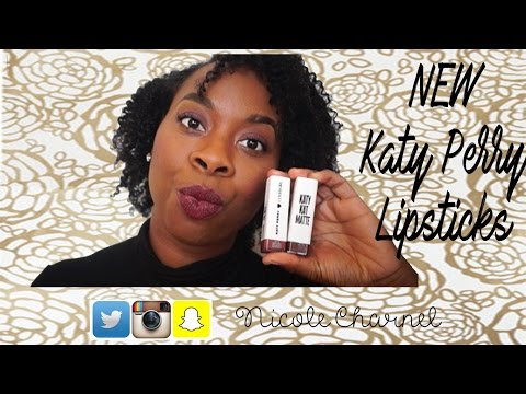 NEW CoverGirl Katy Perry Lipstick ⎜on Brown or Dark Skin WOC