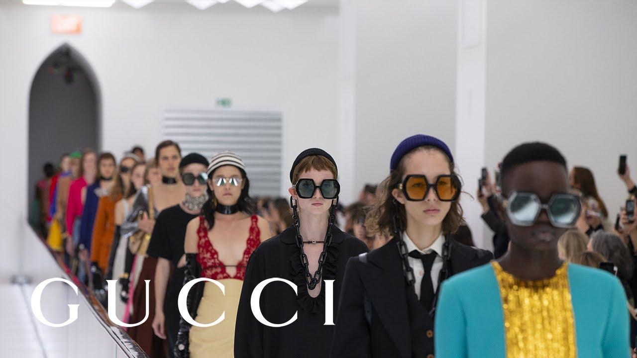 [VIDEO] - Gucci Spring Summer 2020 Fashion Show 8