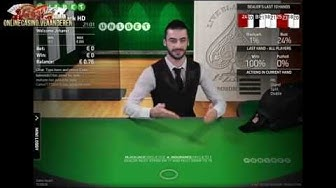 Netent Live Blackjack HD Common Draw Unibet.be