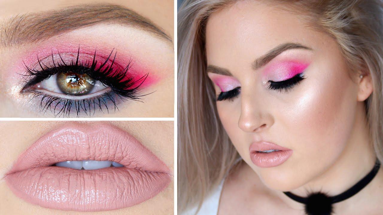 Pink Smokey Eye Makeup