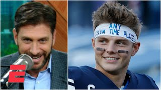 Mike greenberg predicts that byu cougars qb zach wilson will be selected with the no. 2 overall pick in 2021 nfl draft.#nfl✔ sign up for espn+: http://ww...