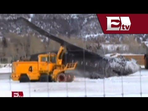 Muere piloto mexicano al estrellarse jet privado en Aspen, Colorado/ Global con Paola Barquet