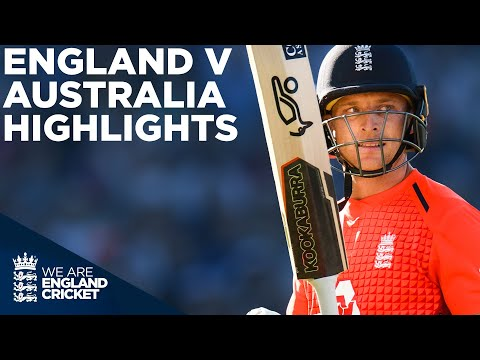 Jos Buttler Smashes Second Fastest T20 50! | England v Australia HIGHLIGHTS Edgbaston 2018