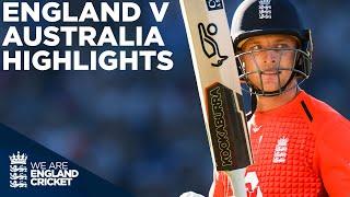 Jos Buttler Smashes Second Fastest T20 50!   England v Australia HIGHLIGHTS Edgbaston 2018