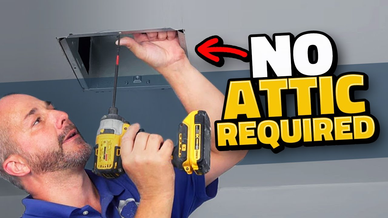 how to install a bath exhaust fan diy