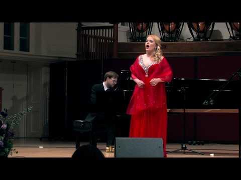 "Alabiev ""The Nightingale"" - Maria Veretenina (soprano), Maksim Stsura (piano)"