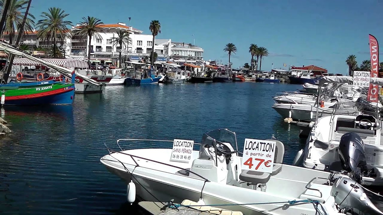 Port Area Saint Cyprien France Youtube