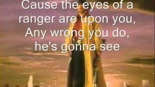 Walker Texas Ranger lyrics
