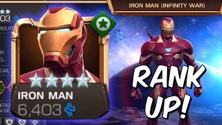 Iron Man (Infinity War) Rank Up, Abilities & Gameplay - Marvel Contest Of Champions
