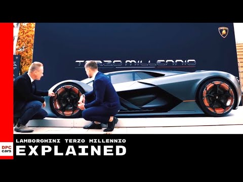 Lamborghini Terzo Millennio Electric Supercar Explained