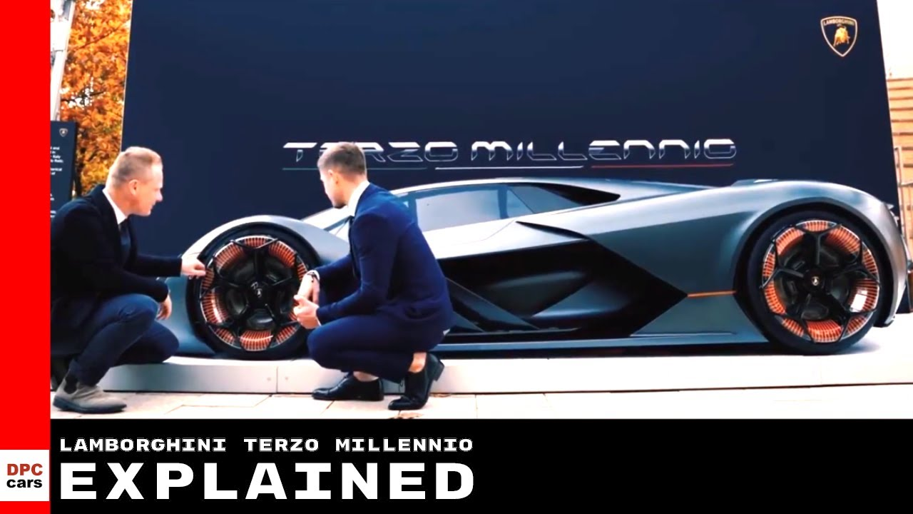 Lamborghini Terzo Millennio Electric Supercar Explained Youtube