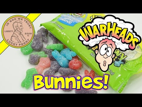 WARHEADS Chewy Bunnies Limited Edition Candy - 6 Flavors