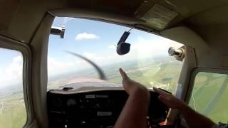 Cessna 152 - Training Flight In Gopro Hd - Weiser Air Park -  Houston, Texas