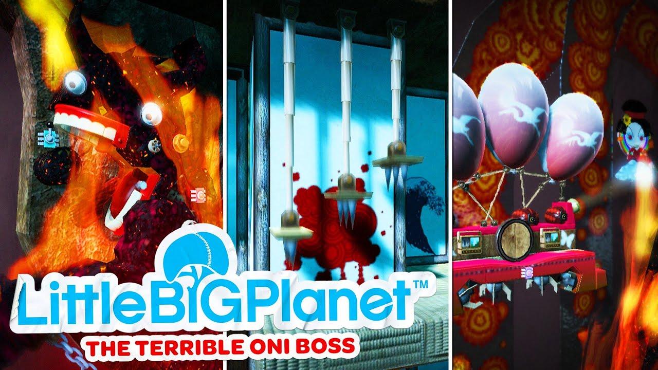 LittleBigPlanet Terrible Oni  Boss
