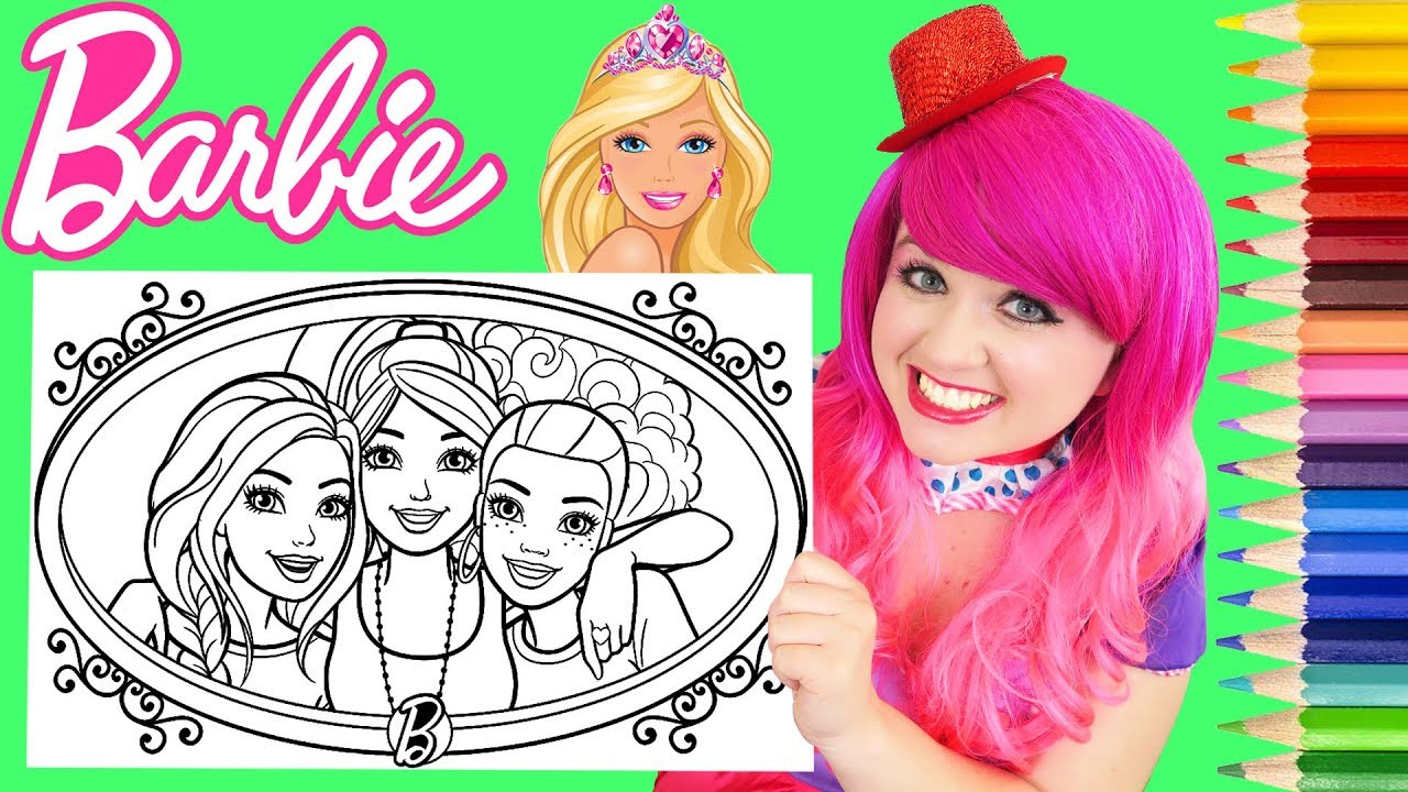 750+ Coloring Book Images Of Barbie Free