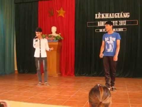 Giá Như Chưa Từng Quen - Quang Hải ft Quang Thành live @ THPT Luong The Vinh - Ba Vi 040912
