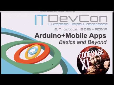 Arduino control via Delphi Mobile apps with Victory Fernandes - CodeRage XI