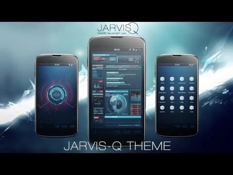 """JARVISQ """"IRON UI"""" - Tutorial (Android)"""