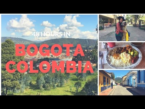 48 Hours in Bogota Colombia | Travel Vlog 1