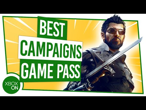 Top 10 BEST CAMPAIGNS On Xbox Game Pass Ultimate