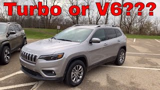 4cyl Turbo vs V6 Engine - 2019 Jeep Cherokee