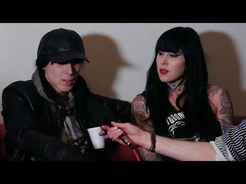 Soundsphere TV Interview: Chris Corner (IAMX) and Kat Von D