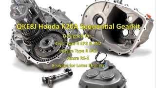 Quaife Honda Sequential Gearbox K20A QKE8J