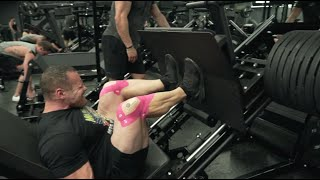 Leg Training 22 Weeks Out - BEYOND FAILURE!
