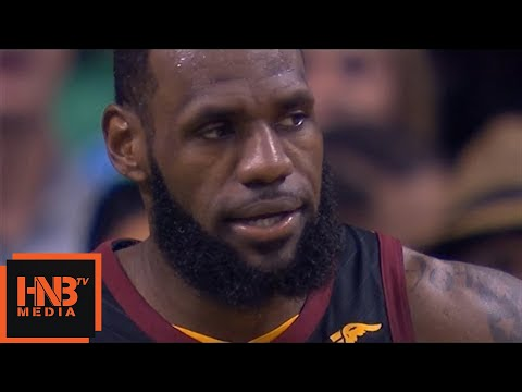Cleveland Cavaliers vs Boston Celtics 1st Half Highlights / Game 5 / 2018 NBA Playoffs