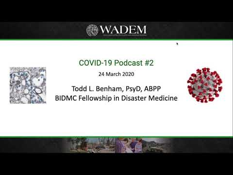Psychosocial Strategies for the COVID-19 Pandemic