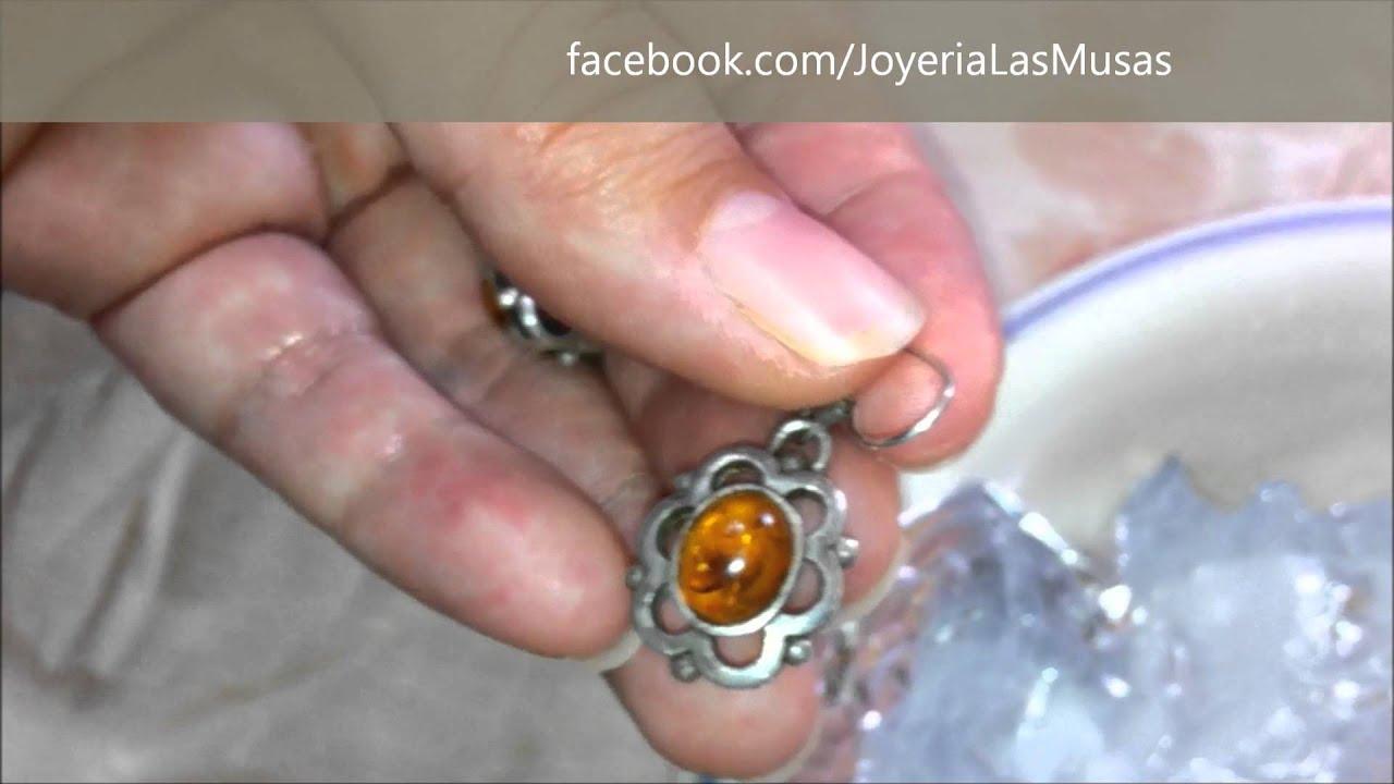 C mo limpiar joyas de plata en casa youtube - Como se pule la plata ...