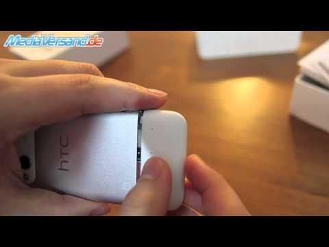 HTC Radar SIM-Karte einsetzen
