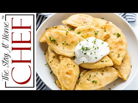 How To Make Potato And Cheese Pierogi | The Stay At Home Chef