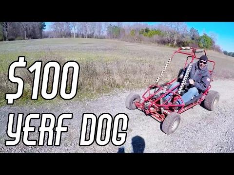 $100 Offroad Go Kart Find