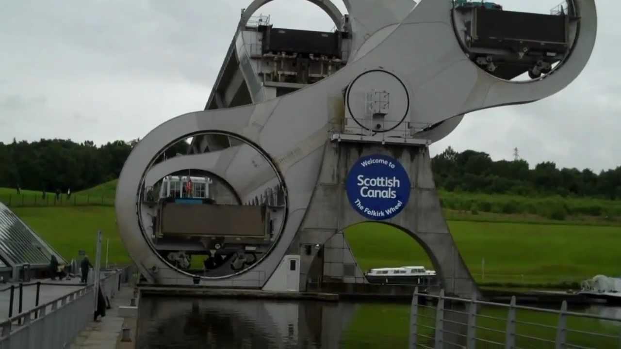 FALKIRK WHEEL BOAT LIFT - YouTube