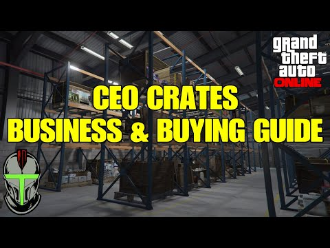 GTA Online CEO Crates Business & Buying GUIDE thumbnail