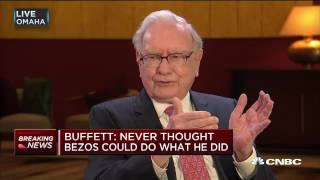 Warren Buffett On Jeff Bezos, Amazon com, & If He's Buying