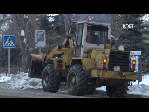 Очистили до основания! В рубрике «Картинка дня» уборка снега на дорогах нашего города