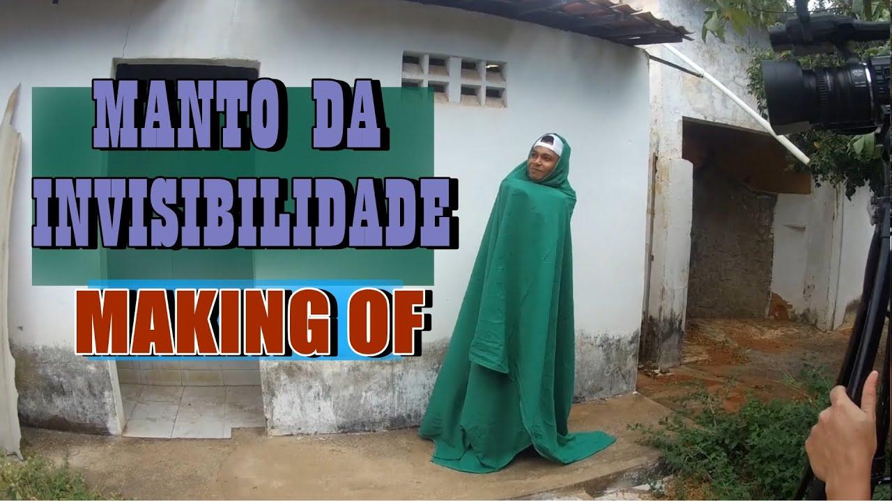 MAKING OF: MANTO DA INVISIBILIDADE