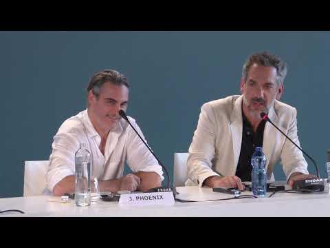 Joaquin Phoenix and Todd Phillips talk JOKER at Venice Film Festival
