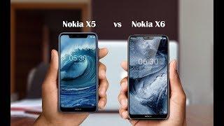 Nokia X5 vs Nokia X6 - Specs Difference 2018