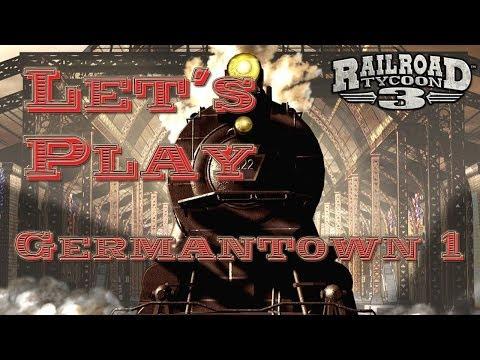Let's Play: Railroad Tycoon 3 - Germantown 1 [Deutsch/HD]