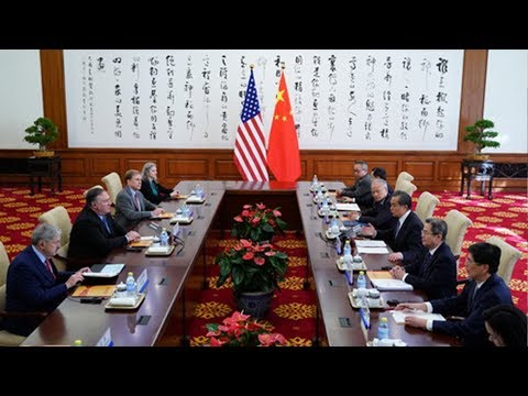 China addresses 'critical' issues with US Secretary of State