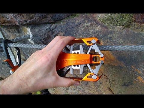 Klettersteigset Skylotec : Skylotec rider 3 hands on youtube