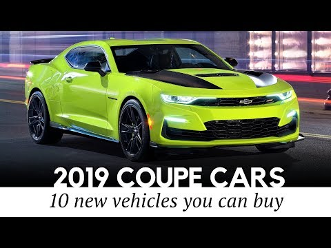 10 NEW Coupe Cars that Show Off 2-door Beauty and Power in 2019